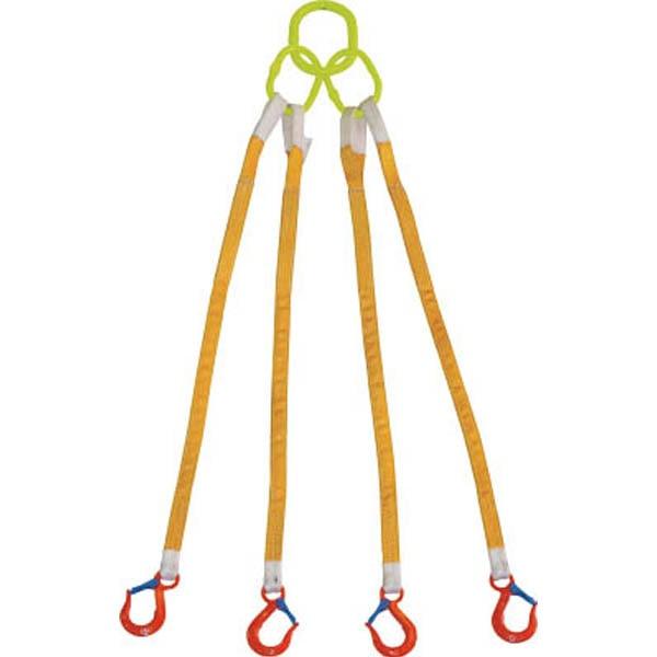 【CAINZ DASH】大洋 4本吊 インカリフティングスリング 1.6t用×1.5m