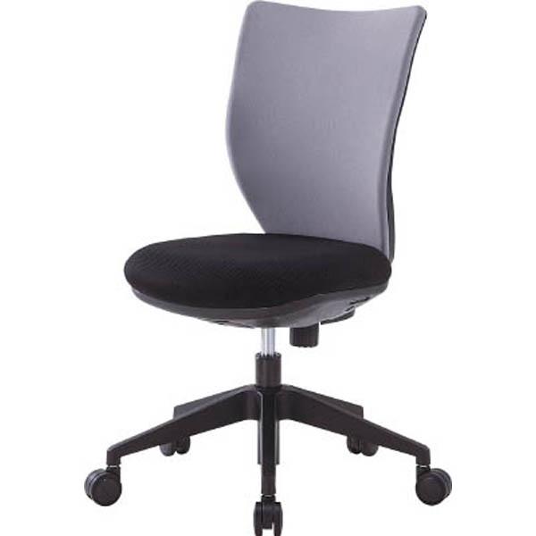 【CAINZ DASH】アイリスチトセ 回転椅子3DA グレー 肘なし