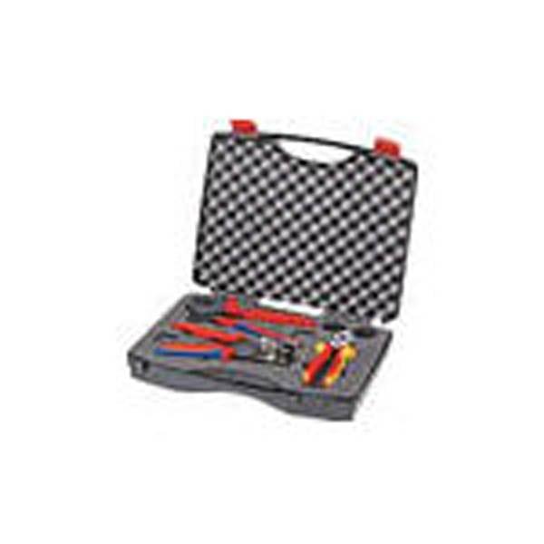 【CAINZ DASH】KNIPEX 9791−01 太陽光発電用工具セット 3点