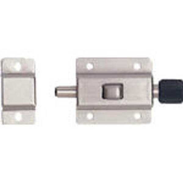 【CAINZ DASH】スガツネ工業 ステンレス鋼製プッシュラッチ PRS−40(140−049−402