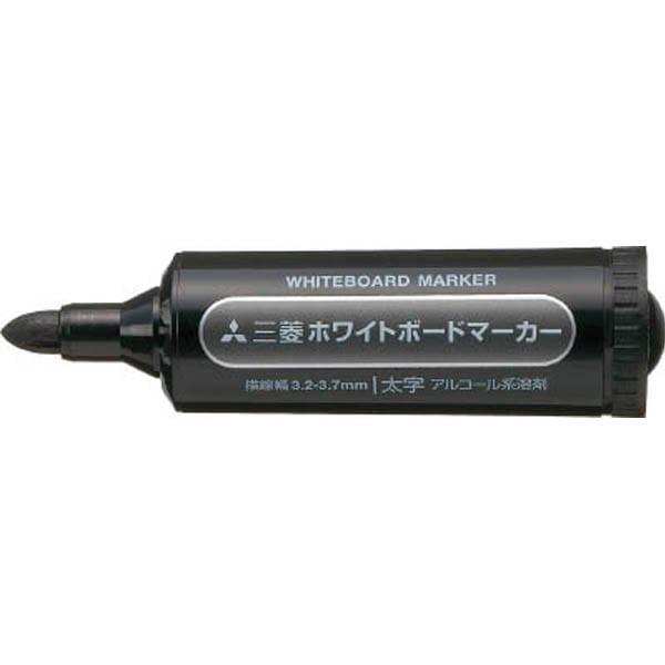【CAINZ DASH】uni 三菱鉛筆/ホワイトボードマーカー/太字/黒