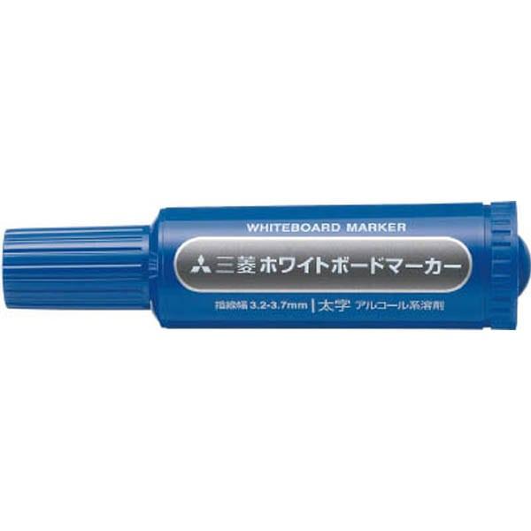 【CAINZ DASH】uni 三菱鉛筆/ホワイトボードマーカー/太字/青
