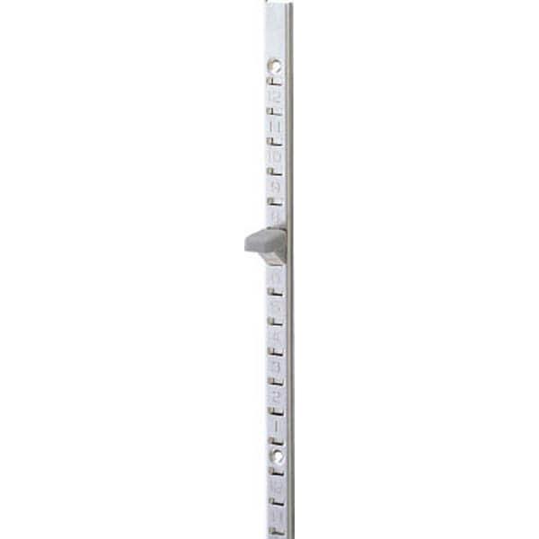 【CAINZ DASH】スガツネ工業 ステンレス製棚柱 目隠し付 SM−2600(120−030−846