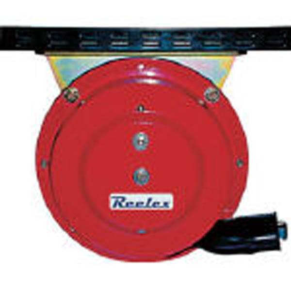【CAINZ DASH】Reelex 自動巻アースリール吊下げ取付タイプ50Aアースクリップ付