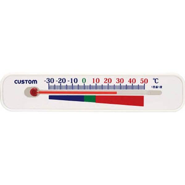 【CAINZ DASH】カスタム ガラス式温度計