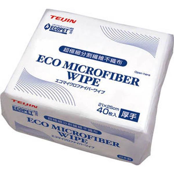 エコマイクロファイバーワイプ 1パック(40枚)