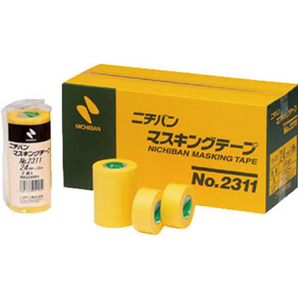 【CAINZ DASH】ニチバン マスキングテープ 2311H 50mmX18m(1パック2巻入り)