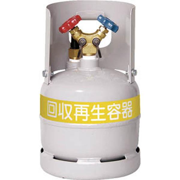 【CAINZ DASH】アサダ フロン回収ボンベ フロートセンサー付 6L 無記名
