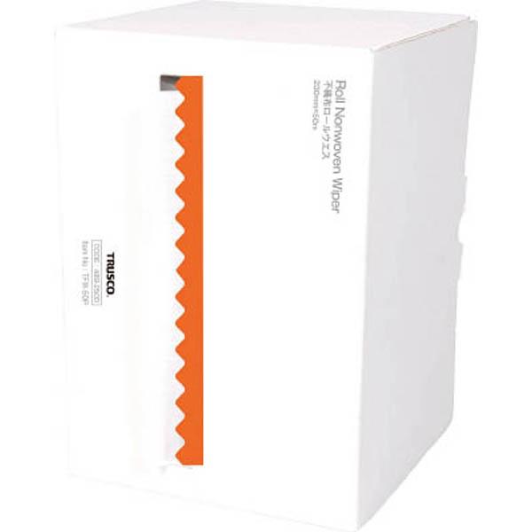 【CAINZ DASH】TRUSCO 不織布ロールウエス 230mmX50m ポップアップボックス