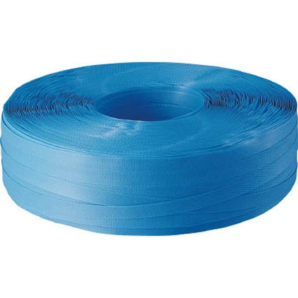 【CAINZ DASH】TRUSCO 封かん機用PPバンド15.5mm×1000m巻 青