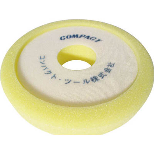【CAINZ DASH】コンパクトツール ウレタンバフ 黄色 30X185X50