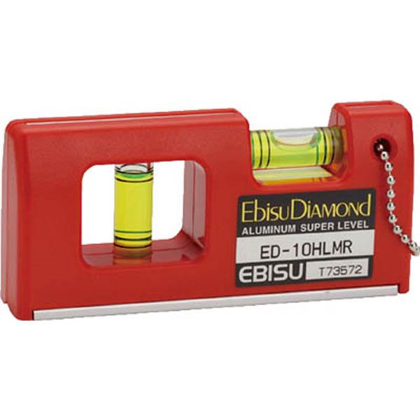 【CAINZ DASH】エビスダイヤモンド 磁石付ハンディーレベルー2 レッド