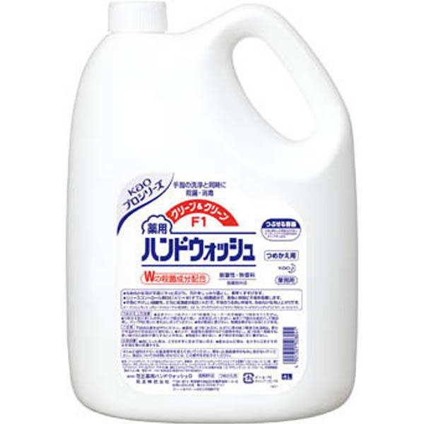 【CAINZ DASH】Kao クリーン&クリーンF1 つめかえ4L