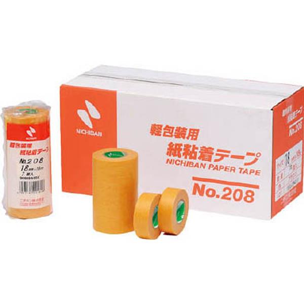 【CAINZ DASH】ニチバン 紙粘着テープ 208H−24