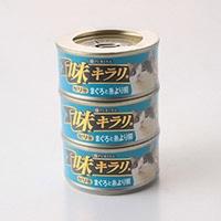 【数量限定】味キラリゼリー まぐろと糸より鯛 80g×3P