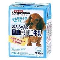 ハヤシ わんちゃんの国産低脂肪牛乳 200ml
