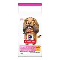 サイエンス・ダイエット 小型犬用 シニアライト(肥満傾向の高齢犬用) 1.5kg