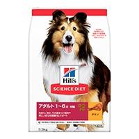 サイエンス・ダイエット アダルト(成犬用) 3.3kg(1kgあたり約782円)