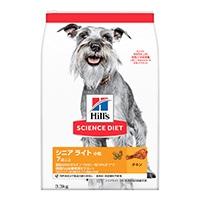 サイエンス・ダイエット シニアライト(肥満傾向の高齢犬用) 小粒 3.3kg
