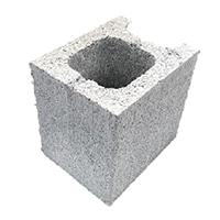 【店舗限定】重量ブロック 15cm 1/2コーナー