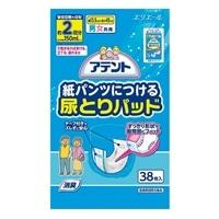 【ケース販売】アテント 紙パンツにつける尿とりパッド 304枚(38枚×8個)[4902011765168×8]