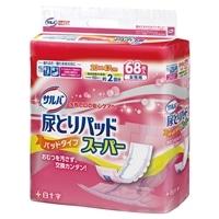 【ケース販売】サルバ 尿とりパッドスーパー 女性用 272枚(68枚×4個)[4987603331518×4]