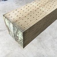 米栂 防腐注入土台 120×120×3000
