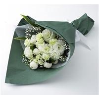 お供え用花束ホワイト NO.11【別送品】【要注文コメント】