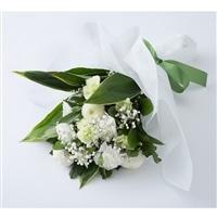 お供え用花束ホワイト NO.12【別送品】【要注文コメント】
