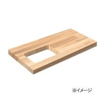 岡元木材 木材カット 穴あけ加工:四角(1カット)【要注文コメント】【別送品】