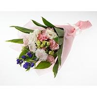 分けても飾れる お供え花束 陽だまり ピンク【別送品】