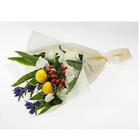 分けても飾れる お供え花束 陽だまり ラベンダー【別送品】