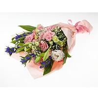 分けても飾れる お供え花束 せせらぎ ピンク【別送品】