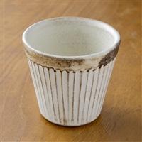 【trv・数量限定】<益子焼>ストレートカップ his−003