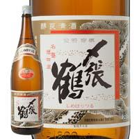 〆張鶴 花 普通酒 1800ml【別送品】