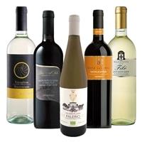[基本送料無料]イタリアテーブルワイン 赤白 5本セット【別送品】