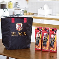 ブラックニッカ クリア 紙パック 1.8L×3本セット オリジナル巾着保冷トートバック付き