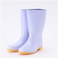 【訳あり商品】耐油 白 長靴 25.0cm(本体汚れ)