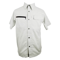 【訳あり商品】スピードドライ ワークシャツ 半袖 GY 3L(汚れ)