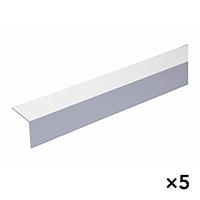 【SU】【ケース販売】1529 ホワイトアングル 40×40 3000mm[4960126215299×5]