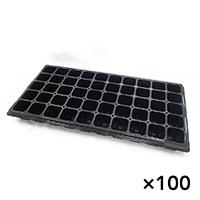 【ケース販売】TOプラグトレー #50 黒×100枚[4527780900017×100]
