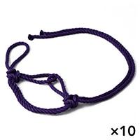 【ケース販売】ジュート立具 紫×10個[4930502595536×10]