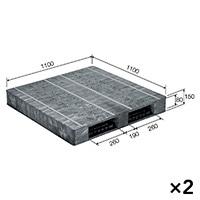 【ケース販売】パレットR2-1111F-2×2枚[4983049514850×2]【別送品】