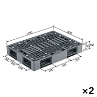 【ケース販売】パレットR4-811-2×2枚[4983049528154×2]【別送品】