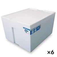 【ケース販売】発泡ケース万能白 TiS−500KA×6個[4546516003464×6]