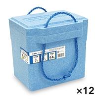 【ケース販売】発泡クーラーBOX 青 TI−80PL×12個[4546516001316×12]
