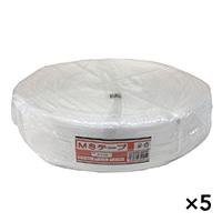 【ケース販売】MSテープ #100 白×5個[4930502321012×5]