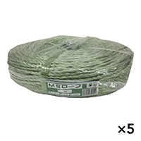 【ケース販売】MSロープ いぐさ色 約6mm x 200m×5個[4930502321142×5]
