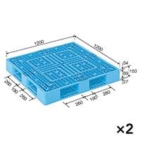 【ケース販売】パレット D4-1212-2×2枚[4983049547322×2]【別送品】