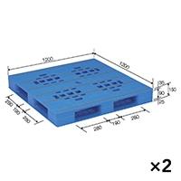 【ケース販売】パレット LX-1212D4×2枚[4983049512245×2]【別送品】